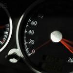 Increasing Numbers on Speedometer